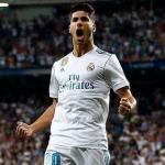 Marco Asensio celebra un gol / Real Madrid