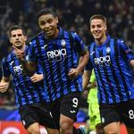 Duvan Zapata celebrando su gol al Dinamo de Zagreb. / d10.ultimahora.com