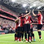 Los jugadores del Athletic celebran un gol. / athletic-club.eus