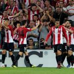 Athletic, celebrando un gol / twitter