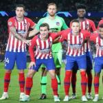 Jugadores del Atlético de Madrid, antes de un partido / Getty.