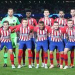 Atlético de Madrid, durante un partido de este curso / Getty