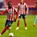 Moussa Dembelé, cada vez más cerca del Atlético de Madrid. Foto: Atlético de Madrid