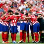 Atlético de Madrid, en partido de 2018 / twitter