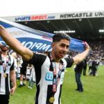 Ayoze Pérez, con la camiseta del Newcastle United. Foto: Cadenaser.com