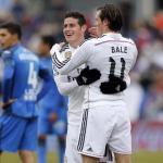 La diferente y a la vez similar situación de James y Bale / TWITTER