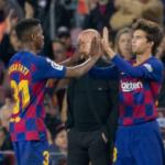 """""""Los tres futbolistas sobre los que el Barça edificará su futuro. Foto: Getty Images"""""""