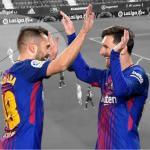 La fórmula Messi-Alba sigue dando puntos