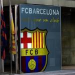 Entrada a las oficinas del Barcelona. / futbolfinanzas.com