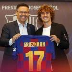Bartomeu explica el pago de Griezmann / FCBarcelona.es