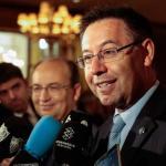 Josep María Bartomeu, máximo mandatario del Barcelona, durante una entrevista con los medios / FC Barcelona