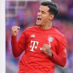 Coutinho celebrando un gol con el Bayern. / fcbarcelonanoticias.com