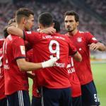 Lewandowski, celebrando un gol / twitter