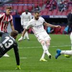 Los errores defensivos del Atlético en el gol de Karim Benzema