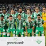 Real Betis, en un partido de esta temporada / twitter