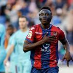 Emmanuel Boateng, celebrando un gol / twitter