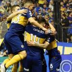 Boca celebrando un gol. / elcomercio.pe