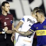 """Los hinchas de Boca culpan sobre todo a dos jugadores de la derrota ante Santos """"Foto: TyC Sports"""""""