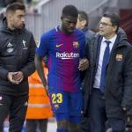 Samuel Umtiti no piensa abandonar el FC Barcelona este verano (FCB)