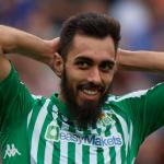 """Borja Iglesias: más goles y menos influencia en el juego de este Real Betis """"Foto: AS"""""""