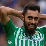 """Borja Iglesias da los mismos puntos al Betis que Messi al Barça """"foto: AFDLP"""""""