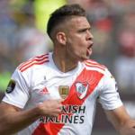 """Alarma en River Plate: la Premier League viene a por Santos Borré """"Foto: AS"""""""