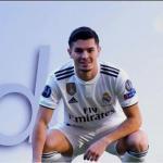 Brahim Díaz en su presentación con el Real Madrid. Foto: Youtube.com