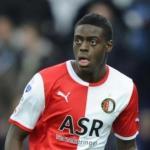 Bruno Martins durante un encuentro con el Feyenoord