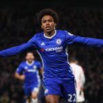 El Shanghai Shenhua ofrece 20 millones al Chelsea FC por Willian (Twitter del club)