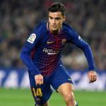 Coutinho en un partido con el Barça / Barça
