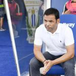 Javier Calleja en la visita del Villarreal a Butarque / LaLiga