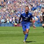 Víctor Camarasa, celebrando un gol / twitter