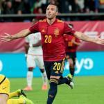 Primer gol de Cazorla desde su vuelta a la selección. Foto: EFE