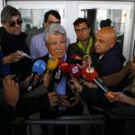 Enrique Cerezo, ante los medios de comunicación / twitter