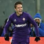 Federico Chiesa celebra un gol / Goal