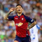 Chimy Ávila se postula como recambio de Lautaro Martínez en el Inter