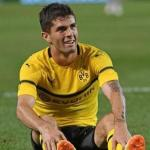 Christian Pulisic, en un partido del Borussia Dortmund / Youtube.com.
