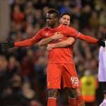 Balotelli celebrando un gol con el Liverpool. / es.besoccer.com