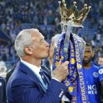 El técnico italiano se proclamó campeón de la Premier League con el Leicester City. Foto: Getty