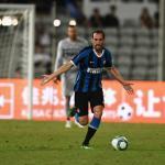 Godín en un partido con el Inter. / ovaciondigital.com.uy