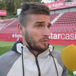 Cristian Portugués 'Portu', ante los medios de comunicación. Foto: Youtube.com