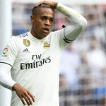 Mariano en un partido del Real Madrid / okdiario