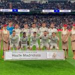El once que ha alineado Solari ante el Barça (Real Madrid)