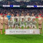 El once con el que Solari salió ante el Barça (Real Madrid)