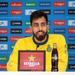Borja Iglesias hoy en sala de prensa (RCD Espanyol)