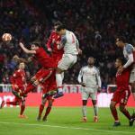 Van Dijk, ante el Bayern (Liverpool FC)