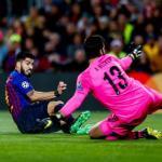 Suárez anota el 1-0 ante el Liverpool (FC Barcelona)