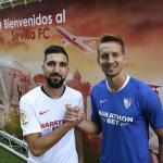 Luuk de Jong y Munas Dabbur son la clave del éxito del Sevilla FC / Sevilla FC