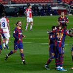 El gran damnificado de la explosión de Ilaix Moriba. Foto: FC Barcelona
