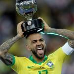 """Dani Alves podría fichar por otro equipo de Brasil """"Foto: TNT Sports"""""""